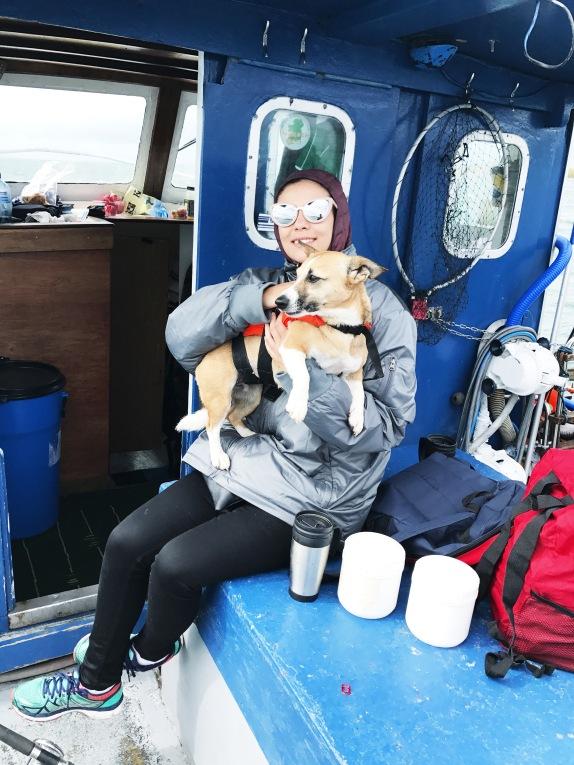 Fishing Westport - Me and Poppy